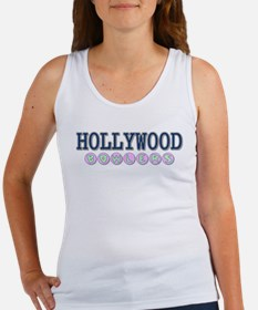 Hollywood Bowlers Women's Tank Top