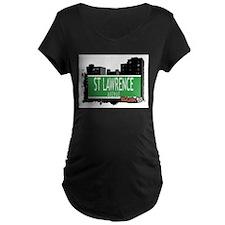 ST LAWRENCE AVENUE, BRONX, NYC T-Shirt