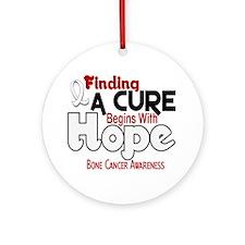HOPE Bone Cancer 5 Ornament (Round)