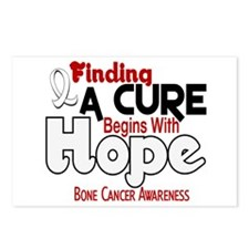 HOPE Bone Cancer 5 Postcards (Package of 8)