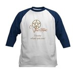 Twilight Know What You Are Kids Baseball Jersey