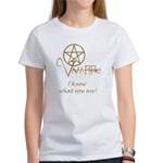 Twilight Know What You Are Women's T-Shirt