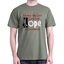 HOPE Bone Cancer 4 T-Shirt