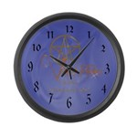 Twilight Know What You Are Large Wall Clock