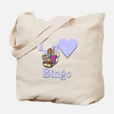 I Love Bingo #5 Tote Bag