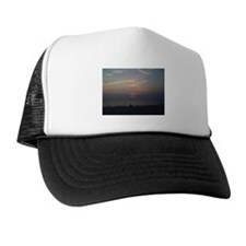 Sunset at West Meadow Trucker Hat