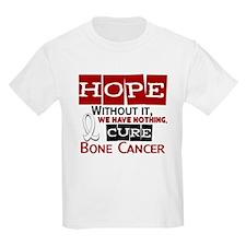 HOPE Bone Cancer 2 T-Shirt