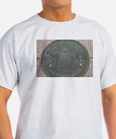 Reverse Great Seal Of The US Ash Grey T-Shirt