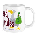 No stinking rules. Mug