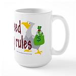 No stinking rules. Large Mug