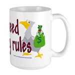 No stinking rules. Large Mug