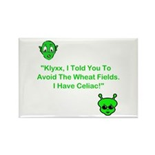 Klyxx, Avoid The Wheat! Rectangle Magnet