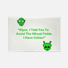 Klyxx, Avoid The Wheat! Rectangle Magnet