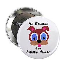 """No Excuse 2.25"""" Button"""