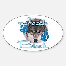 Jacob Black /5 Oval Decal