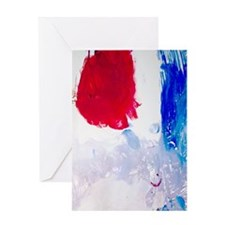 Artistic Abstract Greeting Card