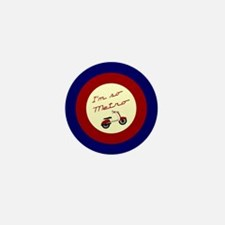 I'm So Metro Mini Button