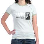 Bertrand Russell 12 Jr. Ringer T-Shirt