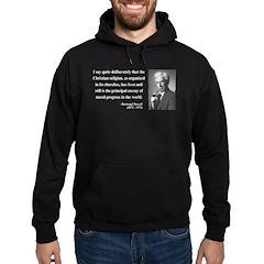 Bertrand Russell 12 Hoodie