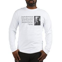 Bertrand Russell 12 Long Sleeve T-Shirt