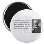 Bertrand Russell 12 Magnet