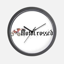 Motocrossed, FMX, Freestyle Wall Clock