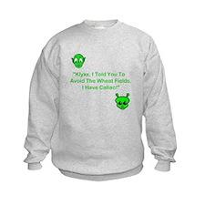 Klyxx, Avoid The Wheat! Sweatshirt
