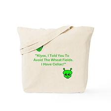 Klyxx, Avoid The Wheat! Tote Bag