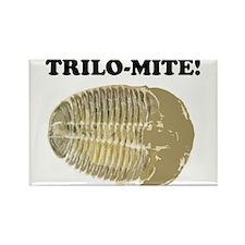 Trilo-mite! Rectangle Magnet