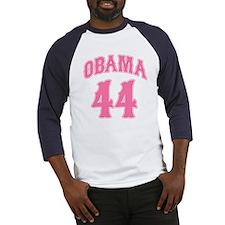 Obama pink 44 Baseball Jersey