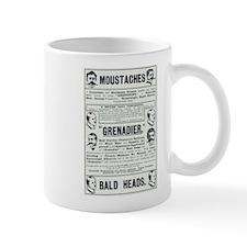 Moustaches and Bald Heads Mug