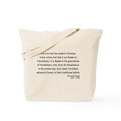 Bertrand Russell 14 Tote Bag