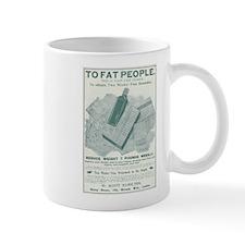 To Fat People Mug