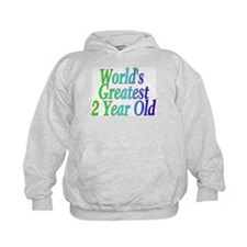 World's Greatest 2 Year Old Hoody