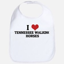I Love Tennessee Walking Hors Bib