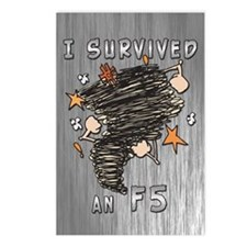 Survived F5 Postcards (Package of 8)