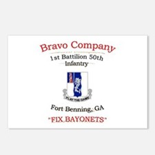 B co 1/50 inf Postcards (Package of 8)