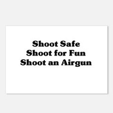 Cute Shooter Postcards (Package of 8)