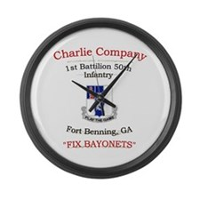 C co 1/50 inf Large Wall Clock