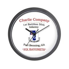 C co 1/50 inf Wall Clock