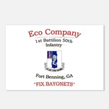 E co 1/50 inf Postcards (Package of 8)