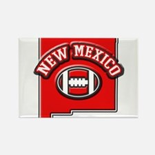 New Mexico Football Rectangle Magnet