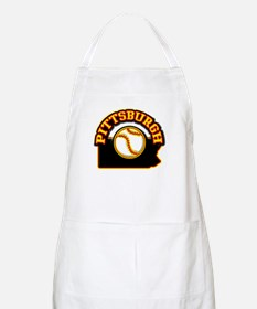 Pittsburgh Baseball BBQ Apron