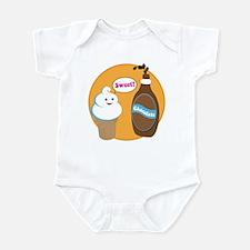 Ice Cream & Chocolate Infant Bodysuit
