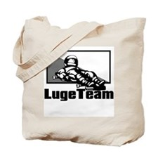 Luge Team Tote Bag