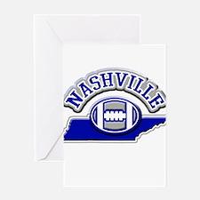 Nashville Football Greeting Card