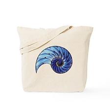 Chambered Nautilus Tote Bag