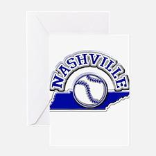 Nashville Baseball Greeting Card
