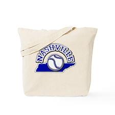 Nashville Baseball Tote Bag