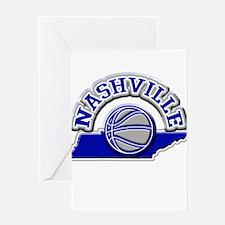 Nashville Basketball Greeting Card